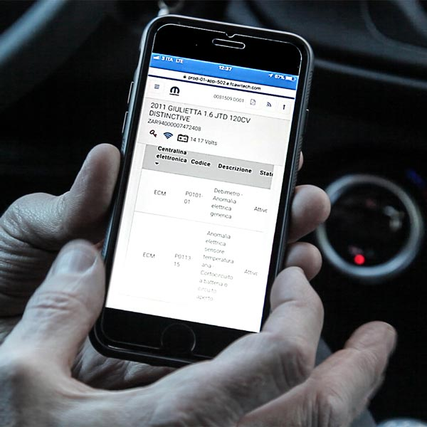 diagnosi guasti automobili come smartphone